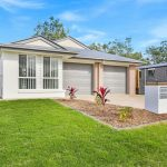 3 BEDROOM DUPLEX IN NEW ESTATE WITH OPEN PLAN KITCHEN LIVING DINING AREA AND GOOD SIZE BEDROOMS. FULLY FENCED YARD THAT EASILY FITS A TRAMPOLINE.